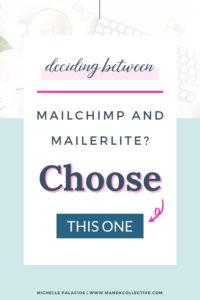 How to decide between MailChimp and Mailerlite