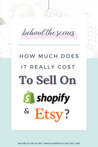 Etsy vs Shopify Fees Comparison From a Real Shop Owner